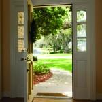 iStock open door